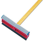 "Unisan General Duty Squeegees 21"" Wood Handle. 8"" Head"