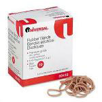 Universal Boxed Rubber Bands, Size 10, Approximately 935, 1/4 lb. Box
