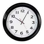 Universal Round Wall Clock, 18in, Black