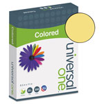 Universal Premium Colored Copier/Laser Printer Paper, 8 1/2x11, Goldenrod, 500 Sheets/Ream