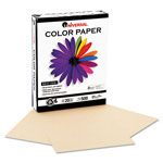 Universal Premium Colored Copier/Laser Printer Paper, 8 1/2 x 11, Tan, 500 Sheets/Ream