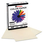 Universal Premium Colored Copier/Laser Printer Paper, 8 1/2 x 11, Ivory, 500 Sheets/Ream