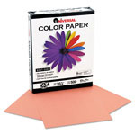 Universal Premium Colored Copier/Laser Printer Paper, 8 1/2 x 11, Salmon, 500 Sheets/Ream