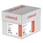 Universal Green Bar Computer Paper, 14 7/8x8 1/2, 1 Part, 20 lb., 2,600 sheets/Ctn