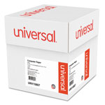 Universal Letter Trim Perforated White Computer Paper, 9 1/2x11, 20 lb., 2,300 Sheets/Ctn
