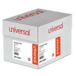 Universal Green Bar Computer Paper, 14 7/8x11, 1 Part, 18 lb., 2,600 sheets/Ctn