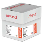 Universal Multicolor Carbonless Printout Paper, 9 1/2x11, 2 Parts, 1,800 sheets/Ctn