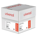 Universal Multicolor Paper, 4-Part Carbonless, 15lb, 9-1/2 x 11, Perforated, 900 Sheets
