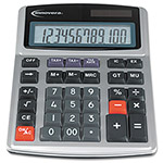 Universal Inovera 15971 Minidesk Calculator, Solar/Battery, Twelve Digit LCD Display