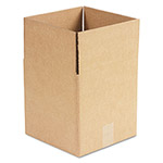 "Universal Kraft Corrugated Shipping Boxes, 10"" x 10"" x 10"""