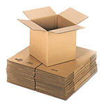 "Universal Shipping Cartons, 200 lb. Corrugated Kraft, 12"" x 12"" X 12"