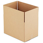 "Universal Kraft Corrugated Shipping Boxes, 18"" x 12"" x 12"""