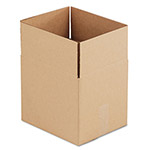 "Universal Kraft Corrugated Shipping Boxes, 12"" x 10"" x 10"""