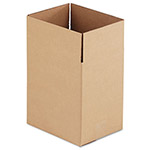 "Universal Kraft Corrugated Shipping Boxes, 11 1/4"" x 8 3/4"" x 12"""