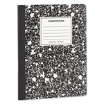 Universal Composition Book, College Rule, 7 1/2 x 9 3/4, White, 100 Sheets