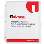 Universal Heavy Weight Sheet Protector, Clear