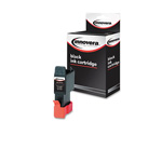 Universal Replacement Inkcart for Canon BCI 21BK/BCI 24BK Cartridges, Black