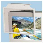 "Universal Black Antiradiation/static/glare Glass Monitor Filter for 17"" CRT Monitor"