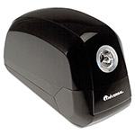 Universal Contemporary Design Electric Pencil Sharpener, Black And Gun Metal Gray