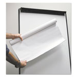 "Universal Super Value Unruled Easel Pad Roll, Unruled, 30"" x 27"", 50 Sheets, 4/Pack"