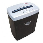 Universal 38063 Medium-Duty Micro-Shred Shredder, Black/Silver