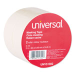 "Universal General Purpose Masking Tape, 48mm x 55m, 3"" Core"