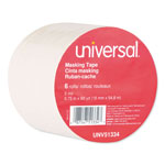 "Universal General Purpose Masking Tape, 18mm x 55m, 3"" Core"