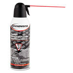 Innovera Compressed Gas Duster, 10 Ounce