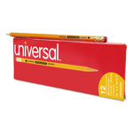 Universal Blackstonian Pencils, #2.5, Medium Firm Lead, Dozen