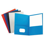 Universal Two Pocket Portfolio, Assorted Colors, Pack of 25