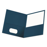 Universal Two Pocket Portfolio, Blue, Pack of 25