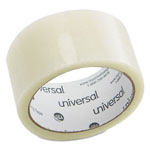 "Universal General Purpose Box Sealing Tape, 48mm x 50m, Clear, 3"" Core"