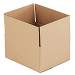 "Universal Kraft Corrugated Shipping Boxes, 10"" x 10"" x 6"""