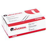 Universal Nonskid Paper Clips, Wire, No. 1, Silver