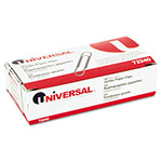 Universal Nonskid Jumbo Paper Clips, Wire, Silver