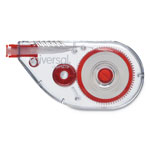 "Universal Sideways Application Correction Tape, 1/5"" x 393"", White"