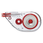 "Universal Correction Tape, Sidewinder, Non-Refillable, 1/4"" x 394"", 10/Pack"