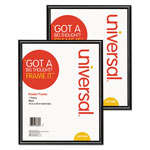 Universal Glossy Black Poster Frame, 16 x 20, 2/Carton