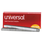 Universal Standard Staples, Chisel Point, 210 Strip Count, 5,000/Box