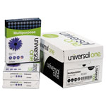 Universal White Multipurpose Paper, 8 1/2 x 11 (Letter), 96 Bright, 20 lb, 500 Sheets Per Ream, Case of 10 Reams