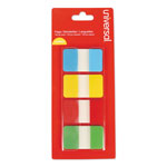 "Universal Self Stick Index Tab, 1"", Assorted Colors, 100/Pack"