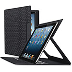 "Solo Blade ULettera Slim Tablet Case, .3""x7.5""x10.3"", Black"