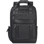 "Solo Bradford Backpack, 15.6"", 12 x 5 x 17 1/2, Black"