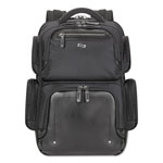"Solo Lexington BackPack, 16.54"" x 4.33"" x 18.5"", Polyester, Black"