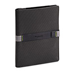 "Solo Universal Tablet Case, Fits 8.9"" to 10.1"", Black/Gray"
