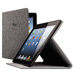 Solo Urban Slim Case for iPad Air, Polyester Fabric, Gray