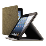 Solo Urban Slim Case for iPad Air, Polyester Fabric, Brown