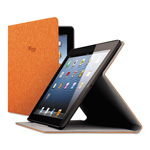Solo Urban Slim Case for iPad Air, Polyester Fabric, Orange
