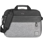 "Solo Urban Code Briefcase, 15.6"", Black/Gray"