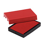 U.S. Stamp & Sign Trodat T4729 Dater Replacement Pad, 1-9/16w x 2d, Red